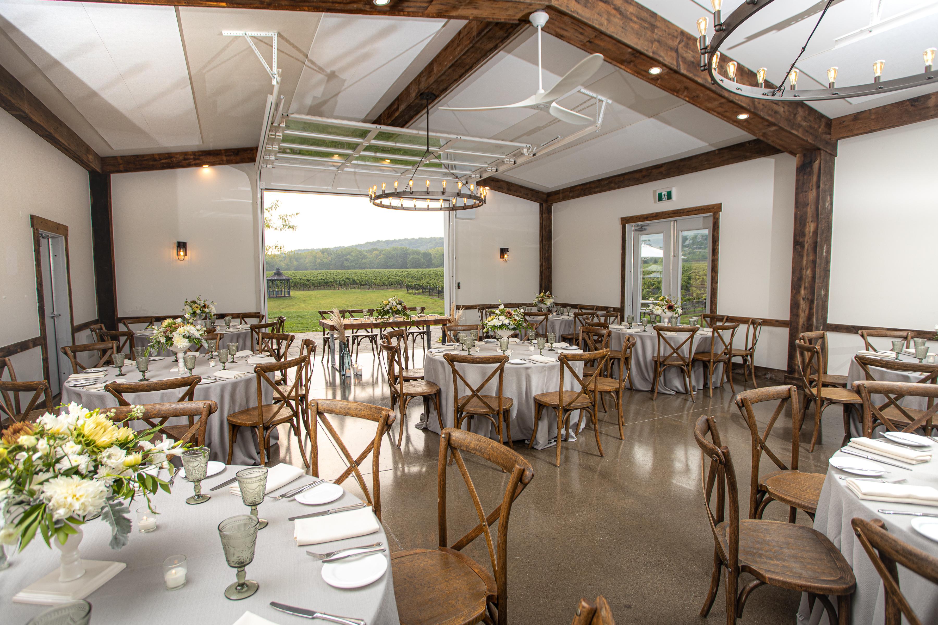 Cave Spring Barn Wedding Reception 2